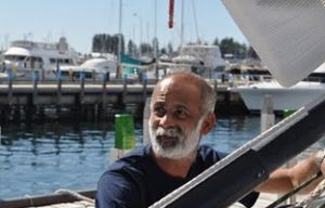 Dilip in Cape Town for India's first solo circumnavigator Dilip Donde