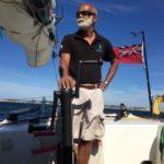 Dilip in Grenada for India's first solo circumnavigator Dilip Donde