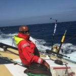 Aboard Greypower for India's first solo circumnavigator Dilip Donde