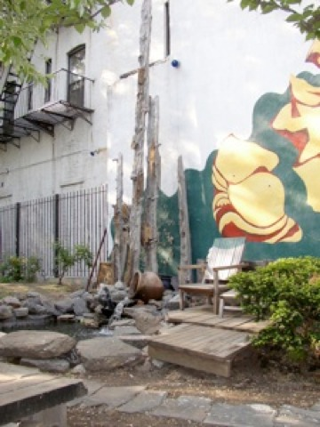 The Secret Community Garden