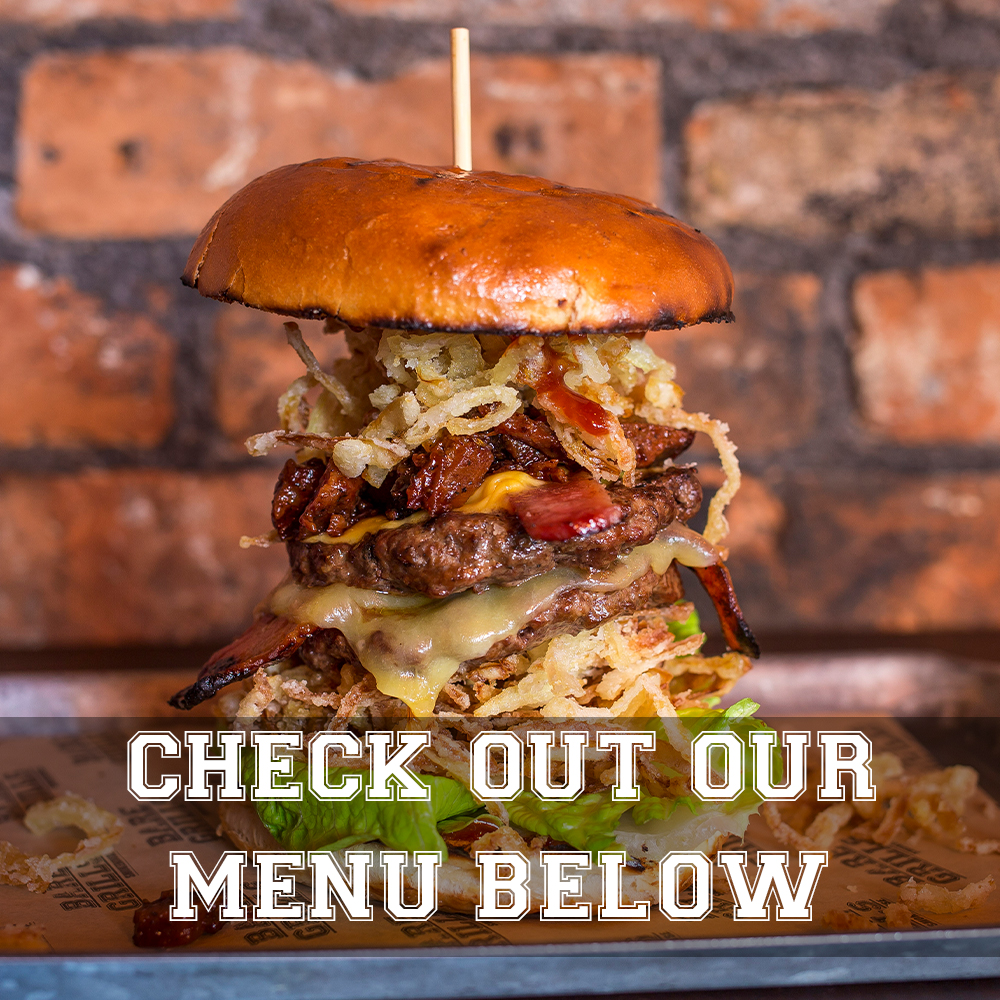 Check out our Menu below