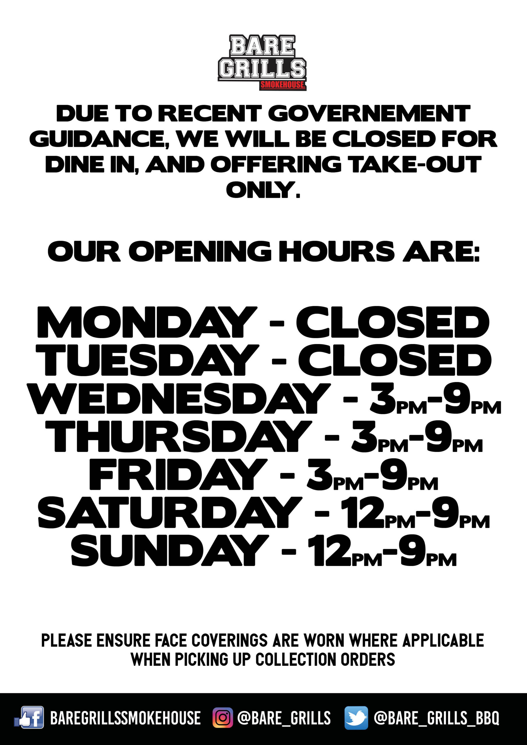 general opening hours
