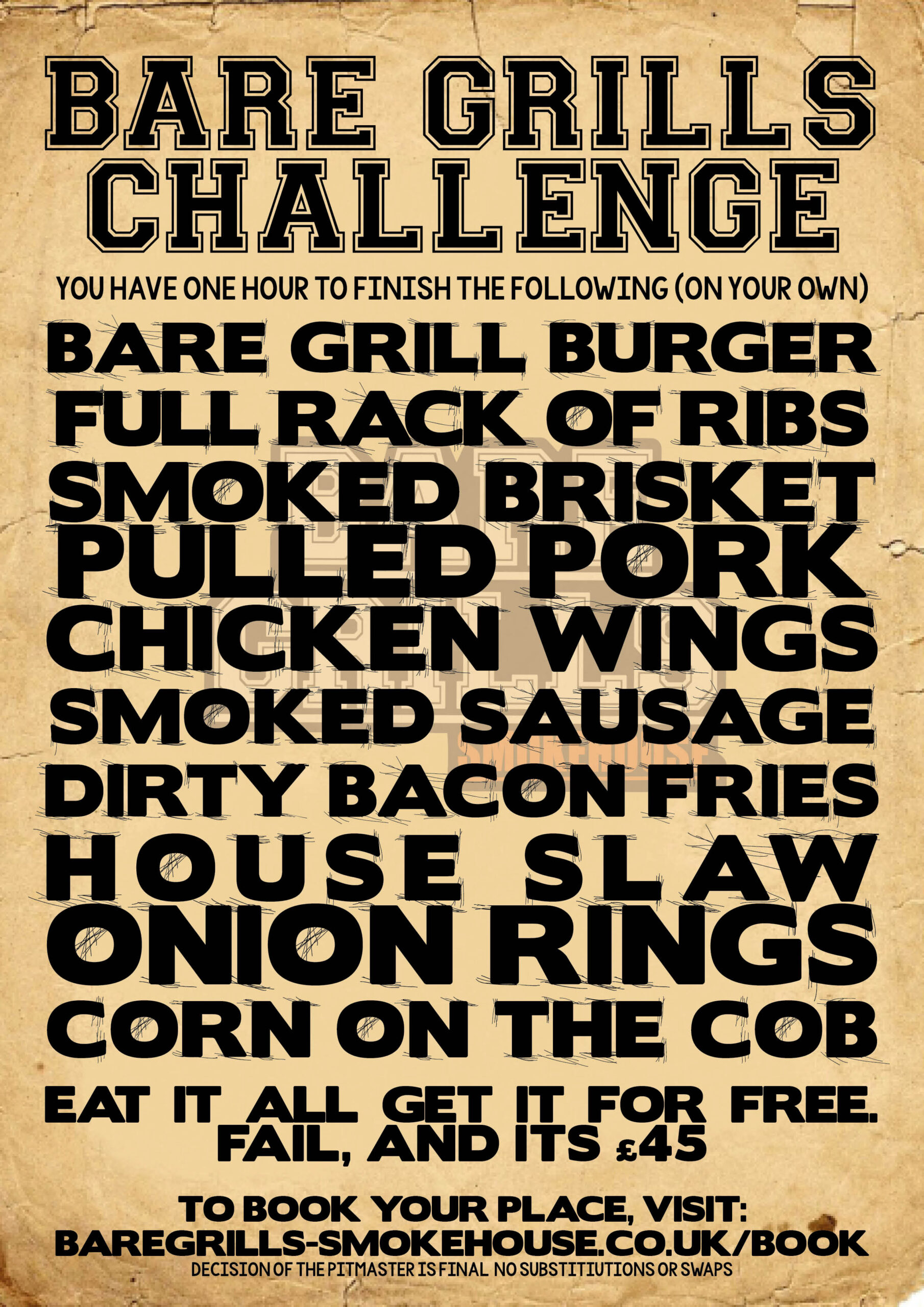 Bare Grills Food Challenge