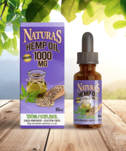 NaturaS OrganicS CBD Hemp Oil Extract 1000mg 10%