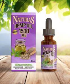 NaturaS OrganicS 1500mg CBD Oil