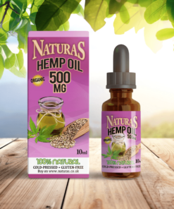 NaturaS OrganicS 500mg CBD Hemp Oil Extract