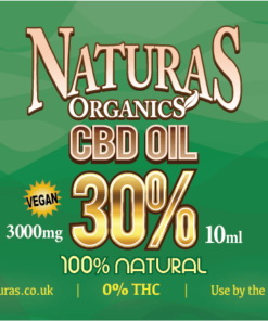 NaturaS OrganicS 30% 3000mg CBD Oil