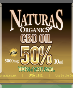 50% 5000mg CBD Oil