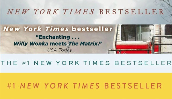 NYT bestsellers lists