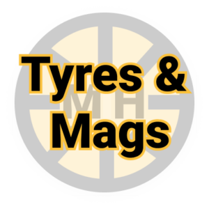 Secondhand Tyres and Mags