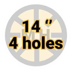 "14"" 4 holes"