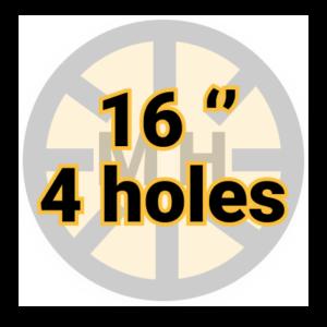 "16"" 4 holes"