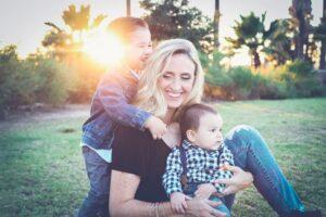 maman solo avec ses enfants