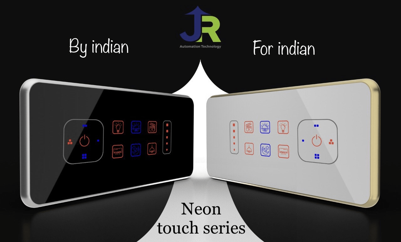 18 competitive benefit point of JR Neon smart touch switch series