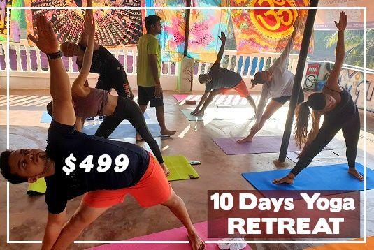 10 days Yoga Retreat in Goa