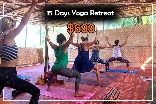 15 Days Yoga Retreat in Goa