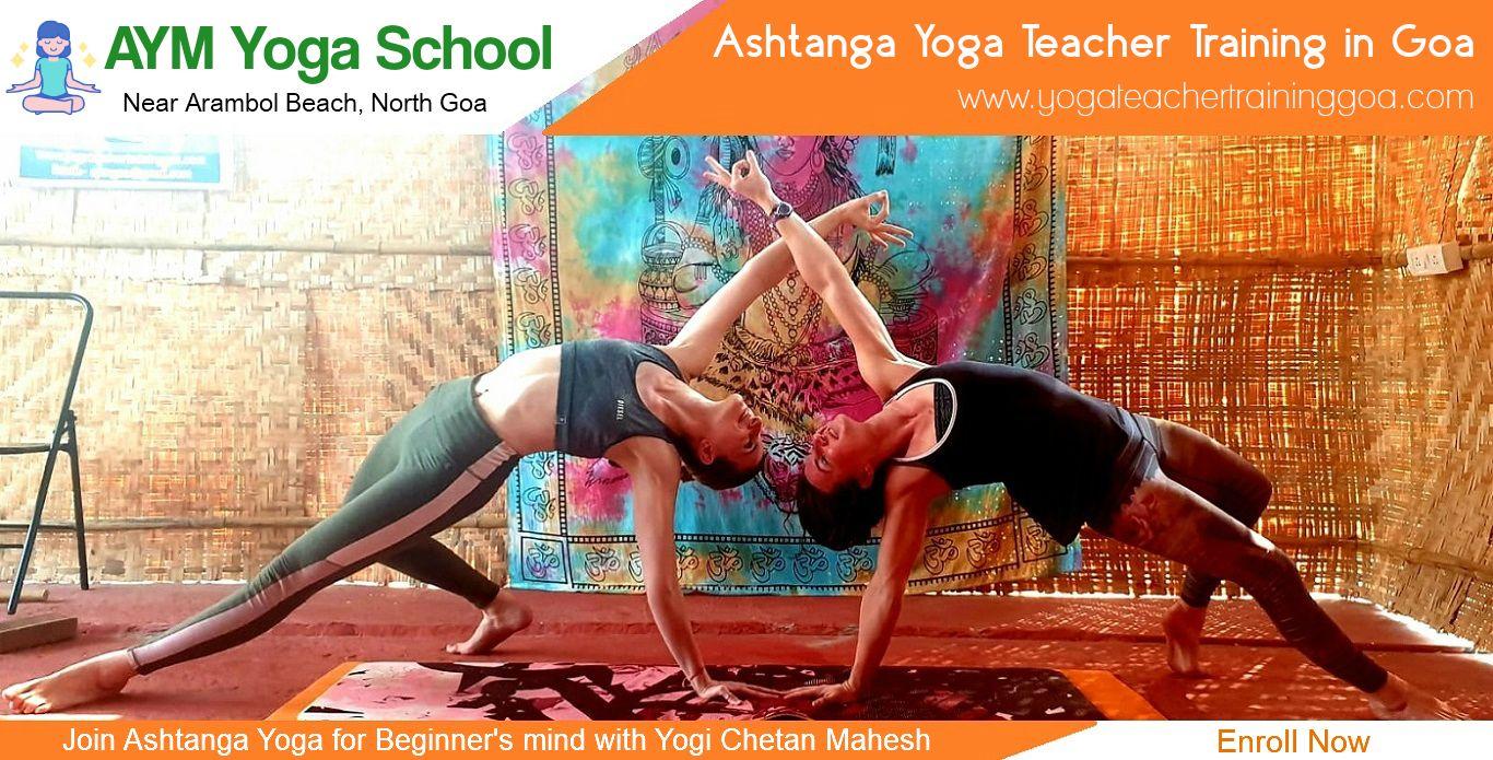 Ashtanga Yoga Teacher Training in Goa
