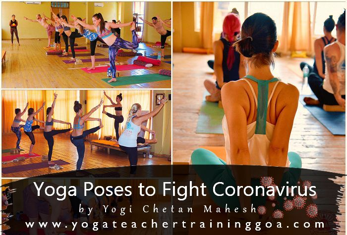 Yoga to fight corona