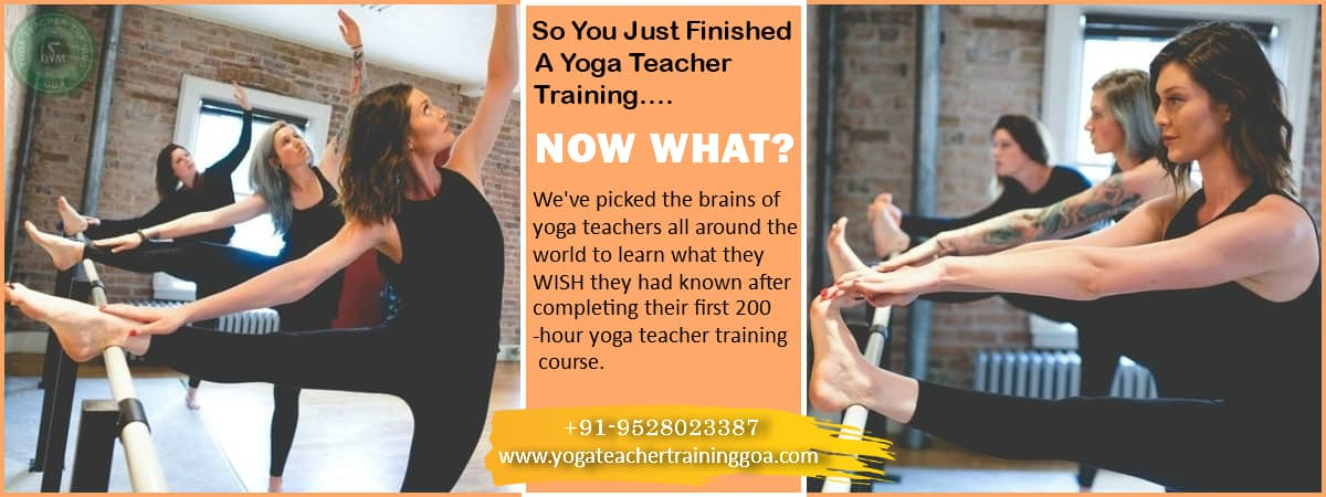 things to do after yoga teacher training