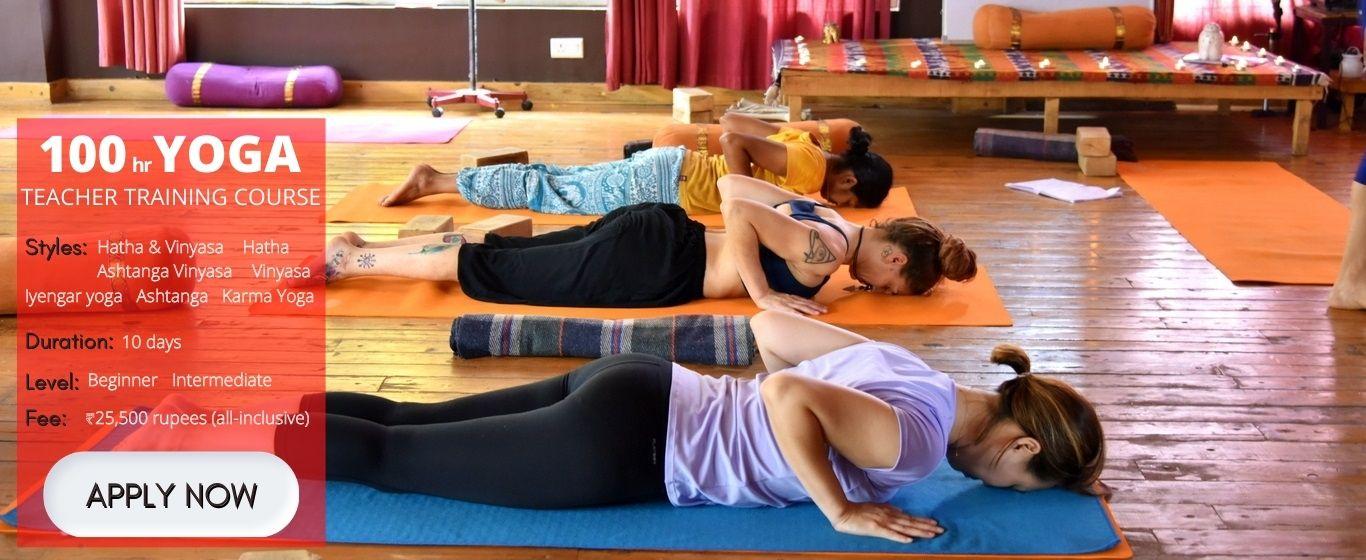 100 hour Yoga Teacher Training in Goa