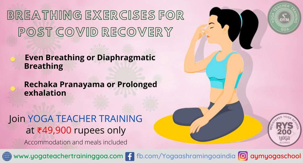 Breathing exercises for post COVID recovery