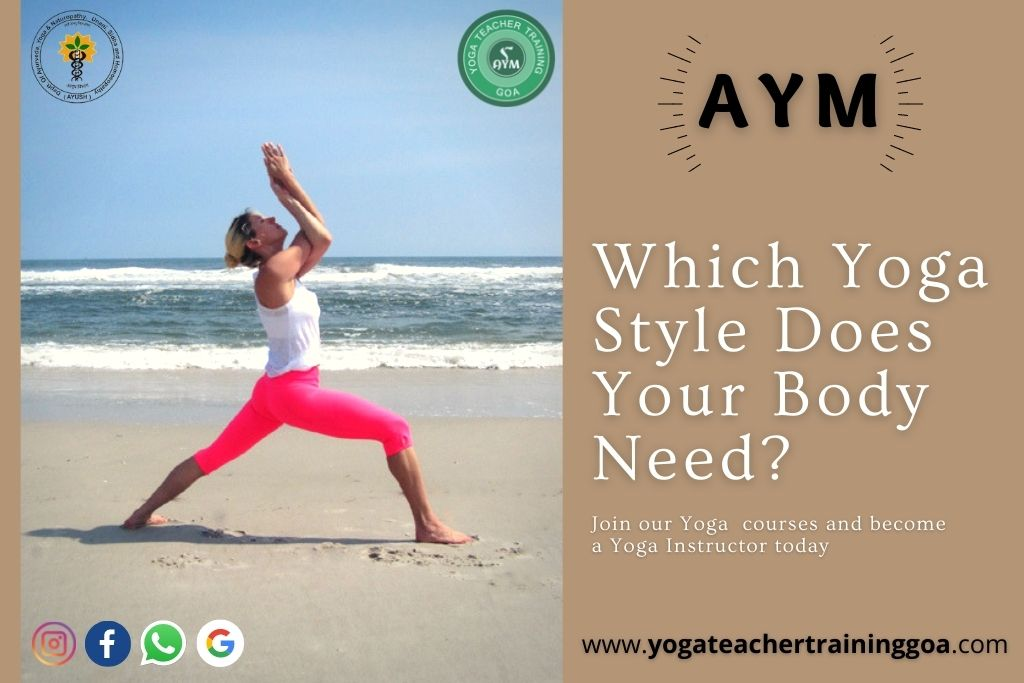 Which Yoga Style Does Your Body Need?
