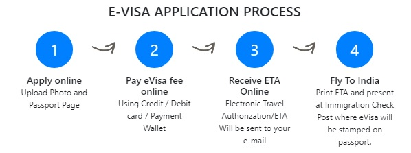 E visa for international tourists