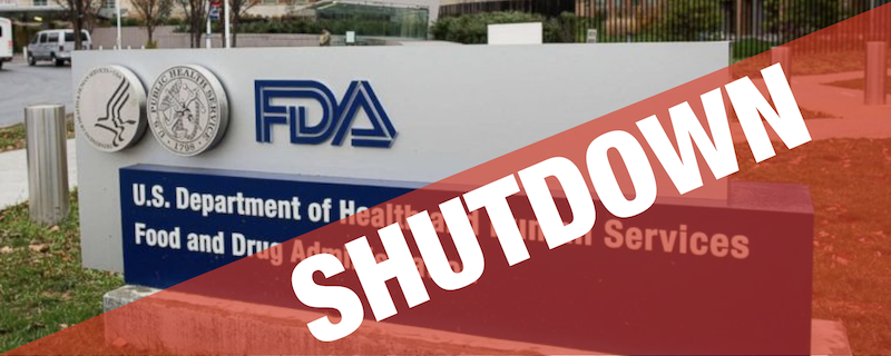 Consulting Switzerland Medical Devices - FDA governement shutdown Governing by crisis