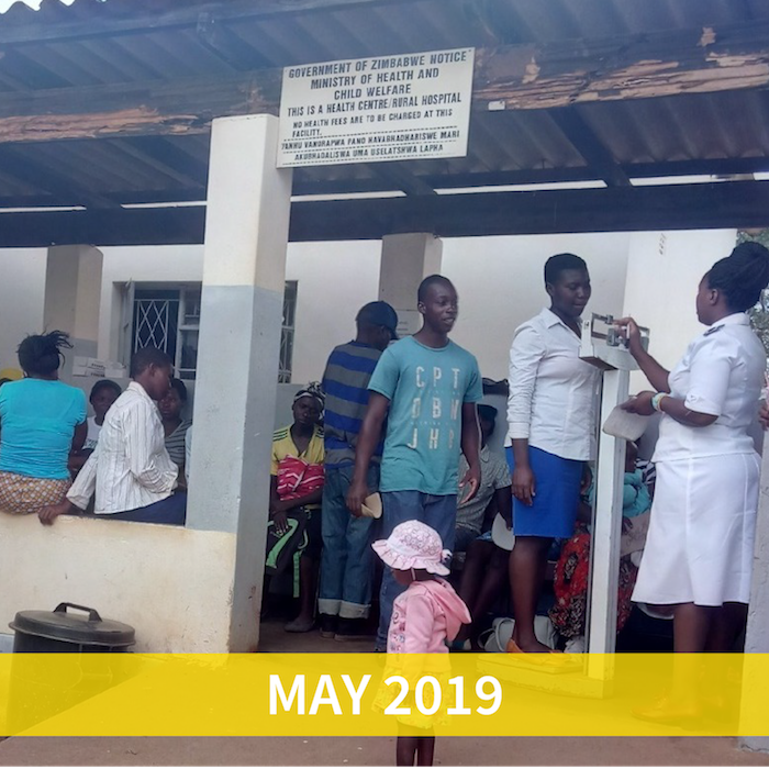 May funding initiative: Medical equipment for rural clinics in Zimbabwe