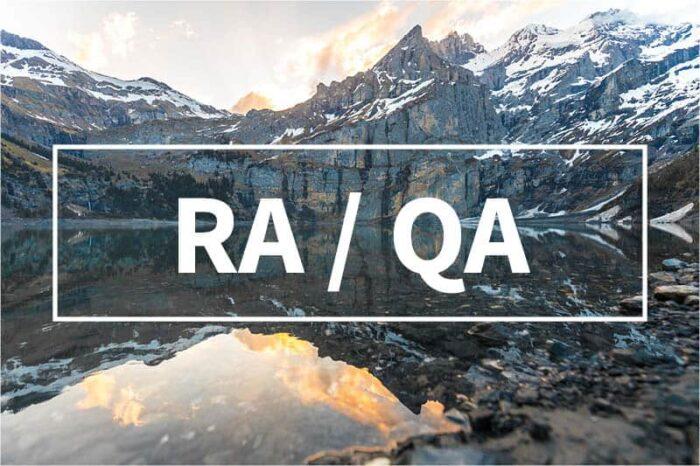 RA / QA