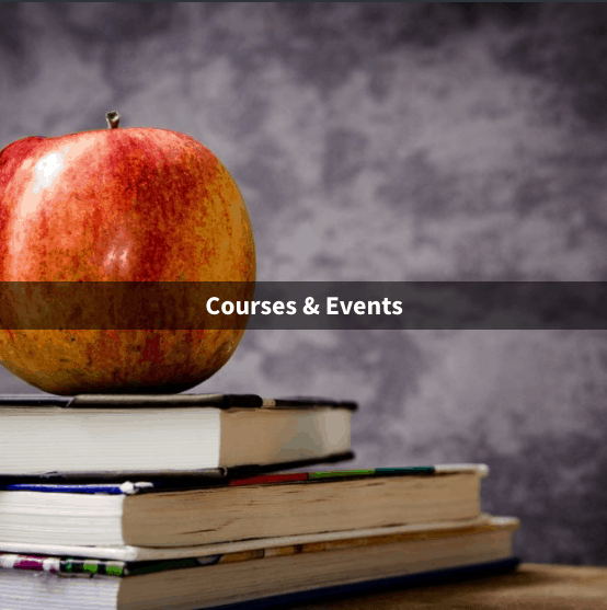 Courses and events