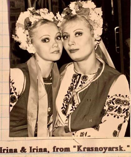 Irina & Irina from Krasnoyarsk