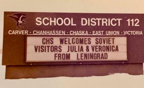 Soviet school visit in Minnesota