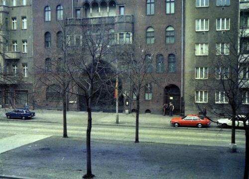 1978 Schoenhauser Allee Mark's flat