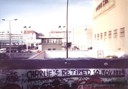 Checkpoint Charlie November 11, 1989
