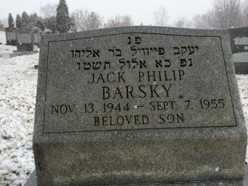 Barsky Grave
