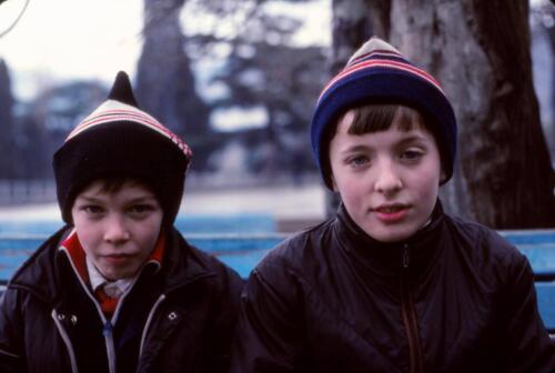 Boys on Minsk street