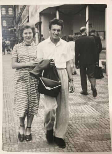 Grandparents-waking-in-1950 s-Prague