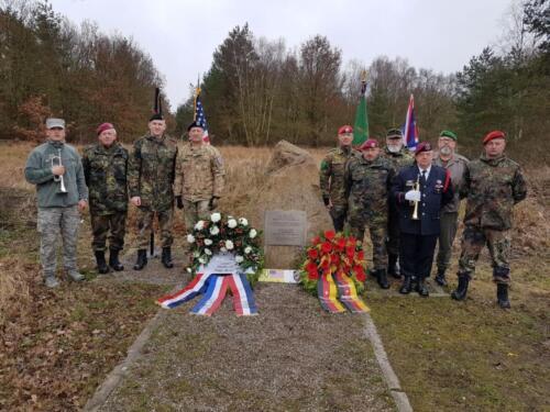 Memorial for on the Bundesstraße 191 in Karstädt, district Ludwigslust-Parchim, Mecklenburg-Vorpommern, Germany
