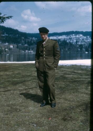 Philippe in uniform
