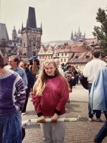 Me-on-Charles-Bridge-1990 1991