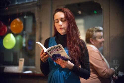 Book reading Eva Caletkova