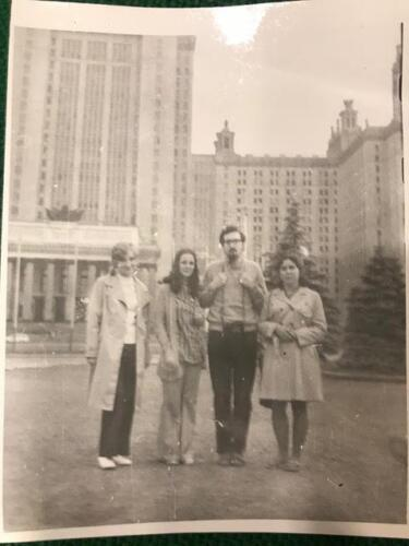 In Moscow, Alan had the opportunity to live and study in the well-known Moscow State University