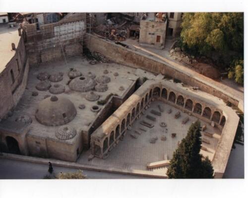 Ancient indoor market in Baku