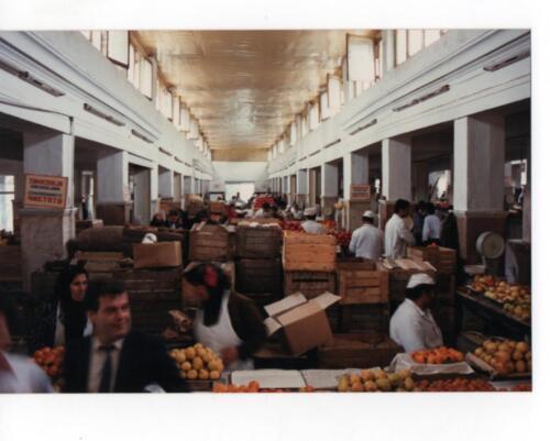 Fruit market in Tblisi