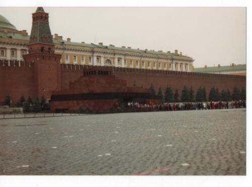 Queue for Lenins Tomb