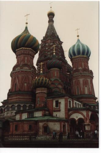 St Basil's Basilica on Red Square - Baz's Gaff