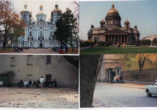 Street views of Leningrad