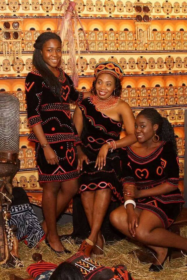 The Atoghu cultural attire or 'toghu' from Cameroon