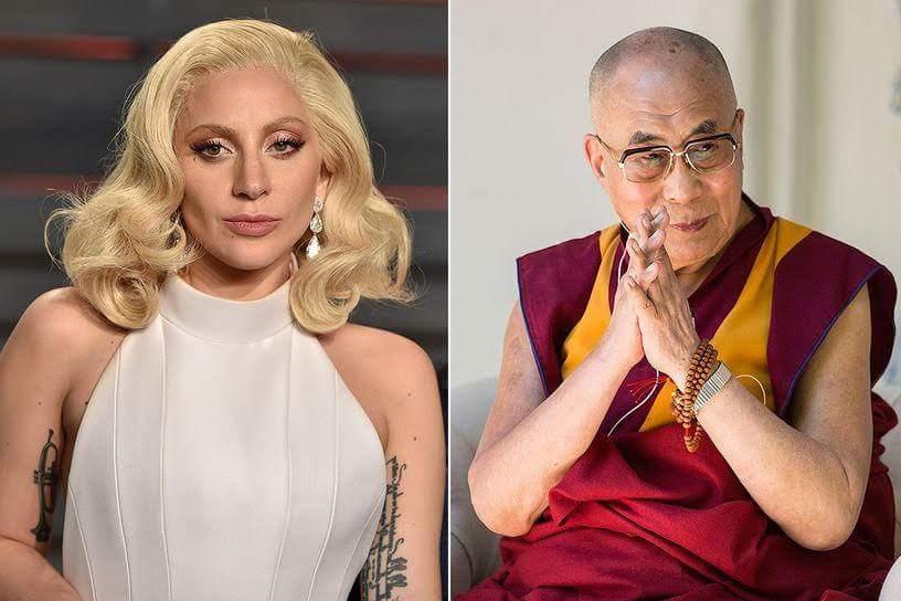 Gaga, DELAI LAMA, LADY GAGA